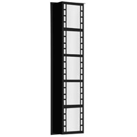 Napoli 26 LED 26 inch Black Outdoor Sconce