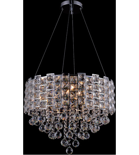 Bethel International Chrome Iron Chandeliers