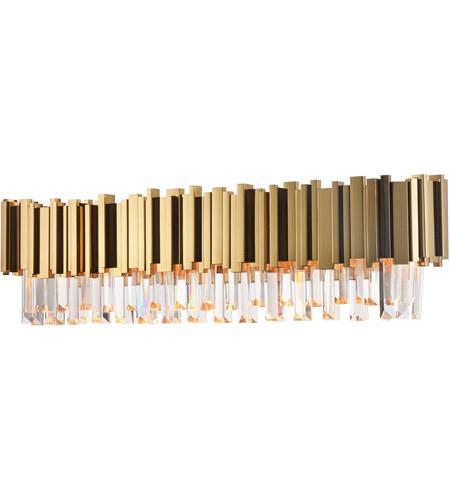 Bethel International Mu105w30g Canada Led 30 Inch Gold Bathroom Vanity Lighting Wall Light