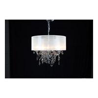 Bethel International 10423-GT-S Canada 6 Light 25 inch Chrome Chandelier Ceiling Light