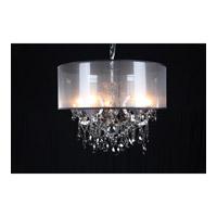 Bethel International 10423-SMK-S Canada 5 Light 25 inch Smoke Chandelier Ceiling Light