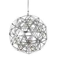 Bethel International MN35SN Canada LED 8 inch Satin Nickel Pendant Ceiling Light