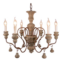 Bethel International YA22 Ya Series Natural Chandelier Ceiling Light