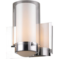 Bethel International YS4030-1W Ys Series 5 inch Chrome Wall Sconce Wall Light
