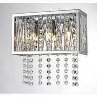 Clear Crystal Wall Sconces