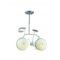 Bethel International ZA16 Za Series 6 inch Pendant Ceiling Light Bicycle
