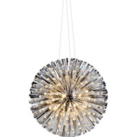 Bethel International GA74 Canada LED 35 inch Chrome Chandelier Ceiling Light
