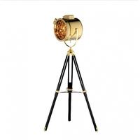 Bethel International AV17G Av17 Series 66 inch 40 watt Gold Floor Lamp Portable Light