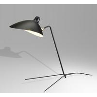 Bethel International BEL66BLK Canada 19 inch 40.00 watt Black Table Lamp Portable Light Black Frame