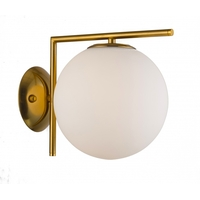 Bethel International DU72 Canada LED 8 inch Brass Wall Sconce Wall Light