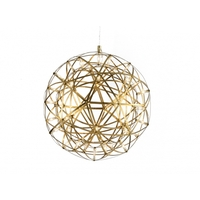 Bethel International MN37GD Canada LED 18 inch Gold Pendant Ceiling Light