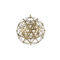 Bethel International MN36GD Canada LED 12 inch Gold Pendant Ceiling Light