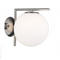 Bethel International DU72SN Canada LED 8 inch Satin Nickel Wall Sconce Wall Light