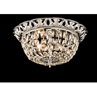 Bethel International JD03 Canada 2 Light 13 inch Brass Flush Mount Ceiling Light