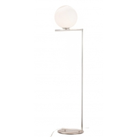 Bethel International DU71SN Canada 65 inch 4.00 watt Satin Nickel Floor Lamp Portable Light