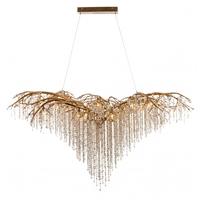 Bethel International AZ03GD Canada 26 Light 43 inch Gold Chandelier Ceiling Light Crystal