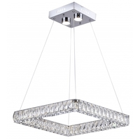 Bethel International KD11-3 Canada LED 20 inch Chrome Pendant Ceiling Light