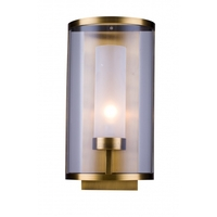 Bethel International MU39 Canada 1 Light 5 inch Antique Brass Wall Sconce Wall Light