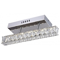 Bethel International KD04X-3S Kd04 Series LED 4 inch Chrome Wall Sconce Wall Light