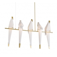 Gold Stainless Steel Sr14 Series Chandeliers