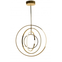 Bethel International TR21 Canada LED 24 inch Gold Pendant Ceiling Light
