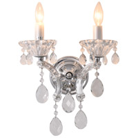 Bethel International 4307WB-C 4307 Series 14 inch Wall Sconce Wall Light