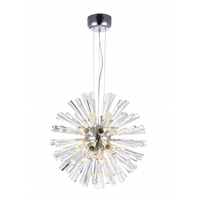 Bethel International GA74S Canada LED 22 inch Chrome Chandelier Ceiling Light
