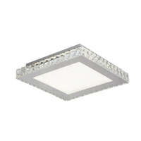 Bethel International FT18 Canada LED 17 inch Clear LED Flush Mount Ceiling Light