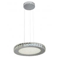 Bethel International FT19 Canada LED 17 inch Clear Pendant Ceiling Light