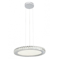 Bethel International FT20 Canada LED 20 inch Clear Pendant Ceiling Light