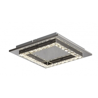 Bethel International FT23 Canada LED 14 inch Clear LED Flush Mount Ceiling Light