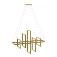 Bethel International ML02 Canada LED 39 inch Gold Linear Pendant Ceiling Light