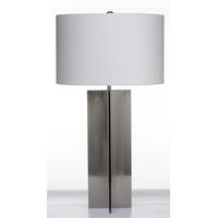 Bethel International JTL54GV-BN Jtl54 Series 30 inch 60 watt Polished Nickel Table Lamp Portable Light