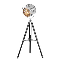 Bethel International AV17 AV Series Stainless Steel Floor Lamp Portable Light