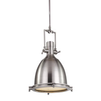AV Series 24 inch Chrome Metal Pendant Ceiling Light