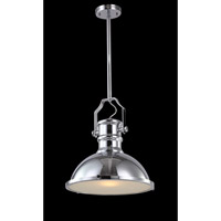 AV Series 20 inch Chrome Metal Pendant Ceiling Light