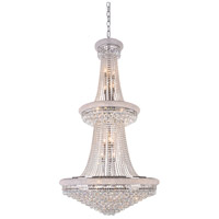 BET1 Series 32 Light 36 inch Chrome Chandelier Ceiling Light