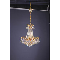 BET Series 18 inch Pendant Ceiling Light, Gold Frame