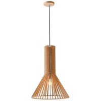 Bethel International CL09 Canada 1 Light 16 inch Wood Single Pendant Lighting Ceiling Light