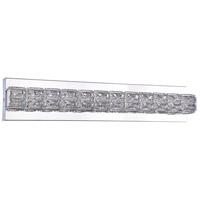 Bethel International DIN11W24CH Canada LED 24 inch Chrome LED Bathroom Vanity Lighting Wall Light