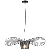 DS10 Series 1 Light 42 inch Black Pendant Ceiling Light