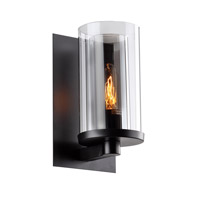 DU Series 7 inch Wall Sconce Wall Light, Black Frame