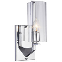 DU Series 3 Light 8 inch Chrome Wall Sconce Wall Light