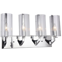 DU Series 4 Light 8 inch Chrome Wall Sconce Wall Light