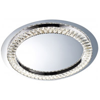 Bethel International FT05 Ft Series LED 23 inch Chrome Flush Mount Ceiling Light