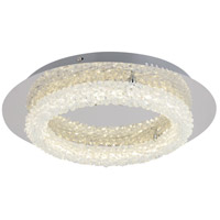 Bethel International FT27 Canada LED 17 inch Chrome LED Flush Mount Ceiling Light
