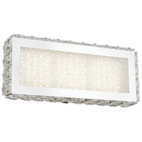 Bethel International FT32W12CH Canada LED 12 inch Chrome LED Bathroom Vanity Lighting Wall Light