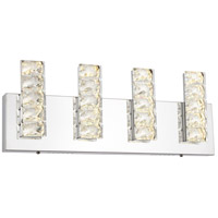Bethel International FT35W18CH Canada LED 18 inch Chrome LED Bathroom Vanity Lighting Wall Light