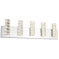 Bethel International FT36W26CH Canada LED 26 inch Chrome LED Bathroom Vanity Lighting Wall Light