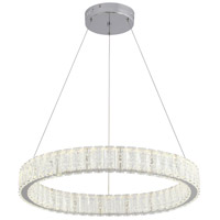 Bethel International FT37C23CH Ft Series LED 23 inch Chrome Pendant Ceiling Light